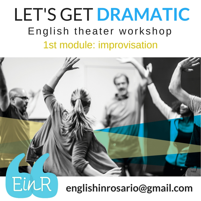 English theater workshop in Rosario